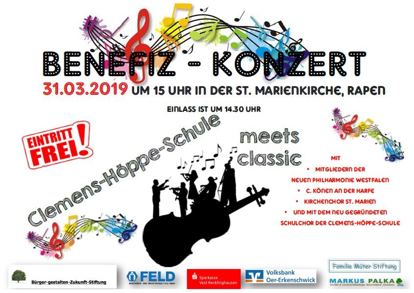 Benefiz-Konzert 31.03.2019
